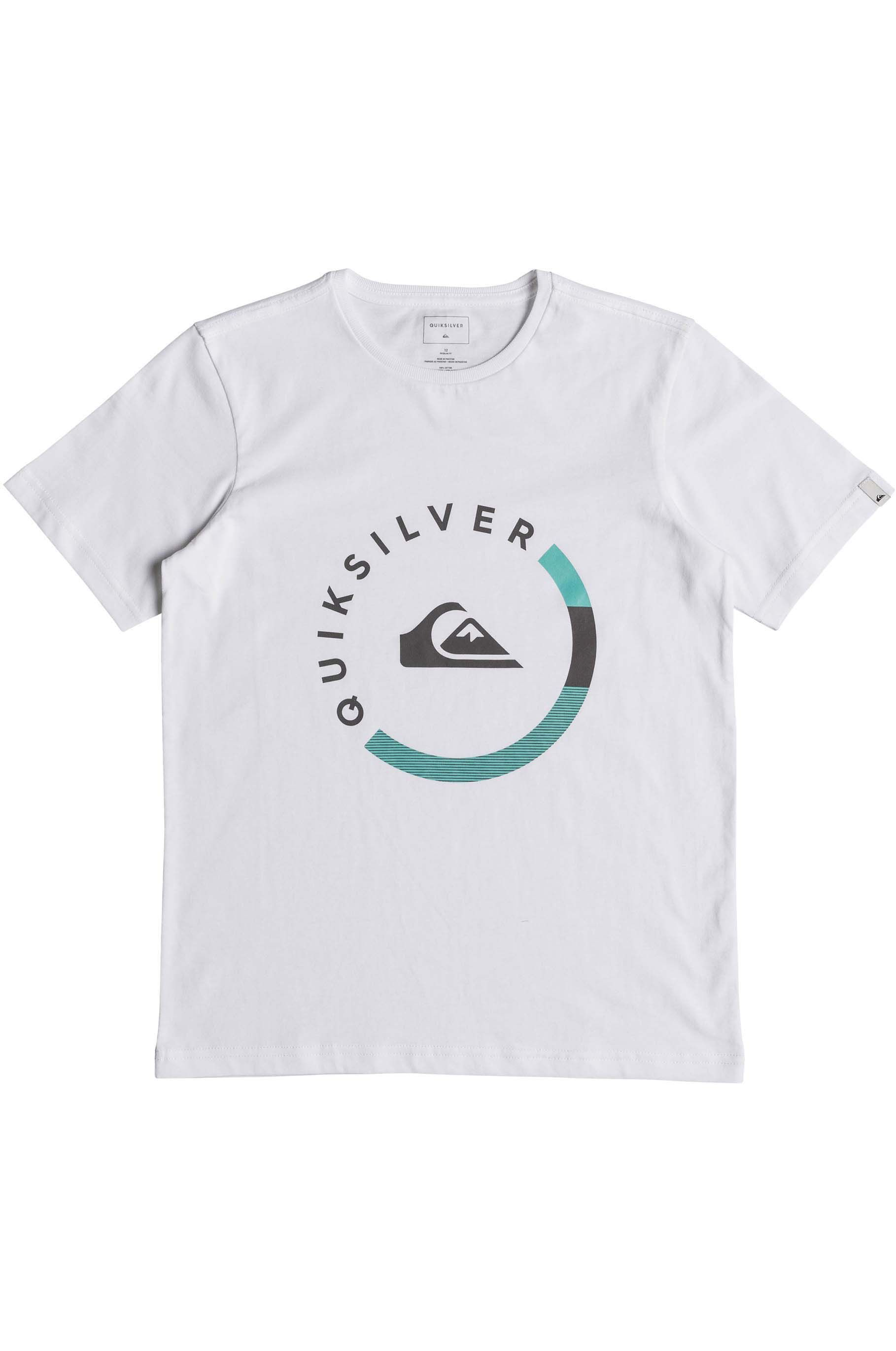Quiksilver T-Shirt SLAB SESSION White