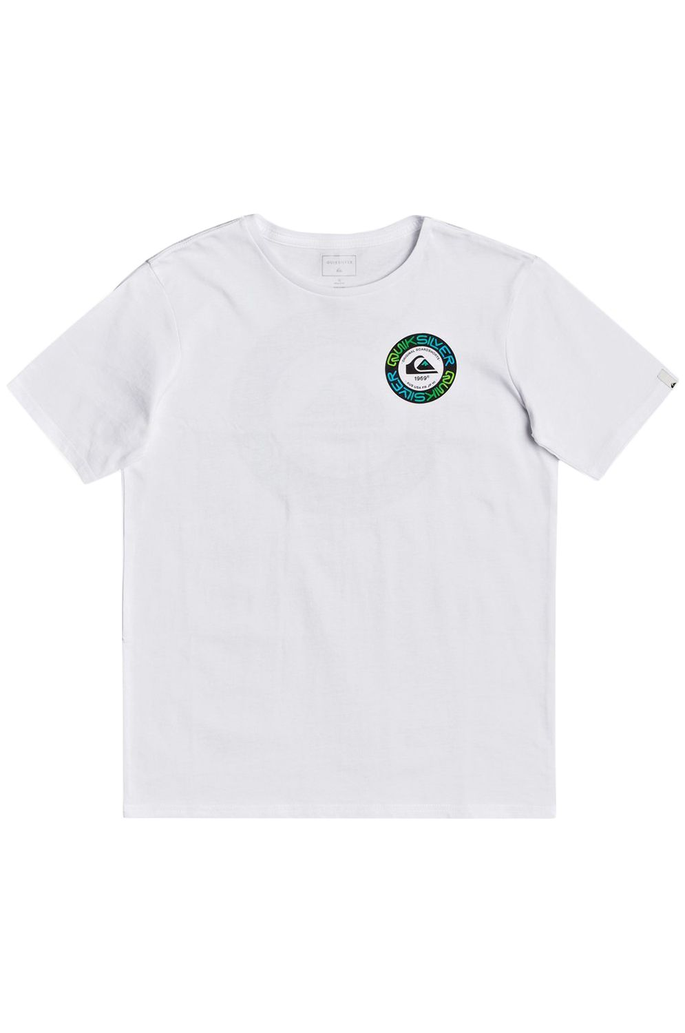 Quiksilver T-Shirt TIMECIRCLESSYTH B TEES White