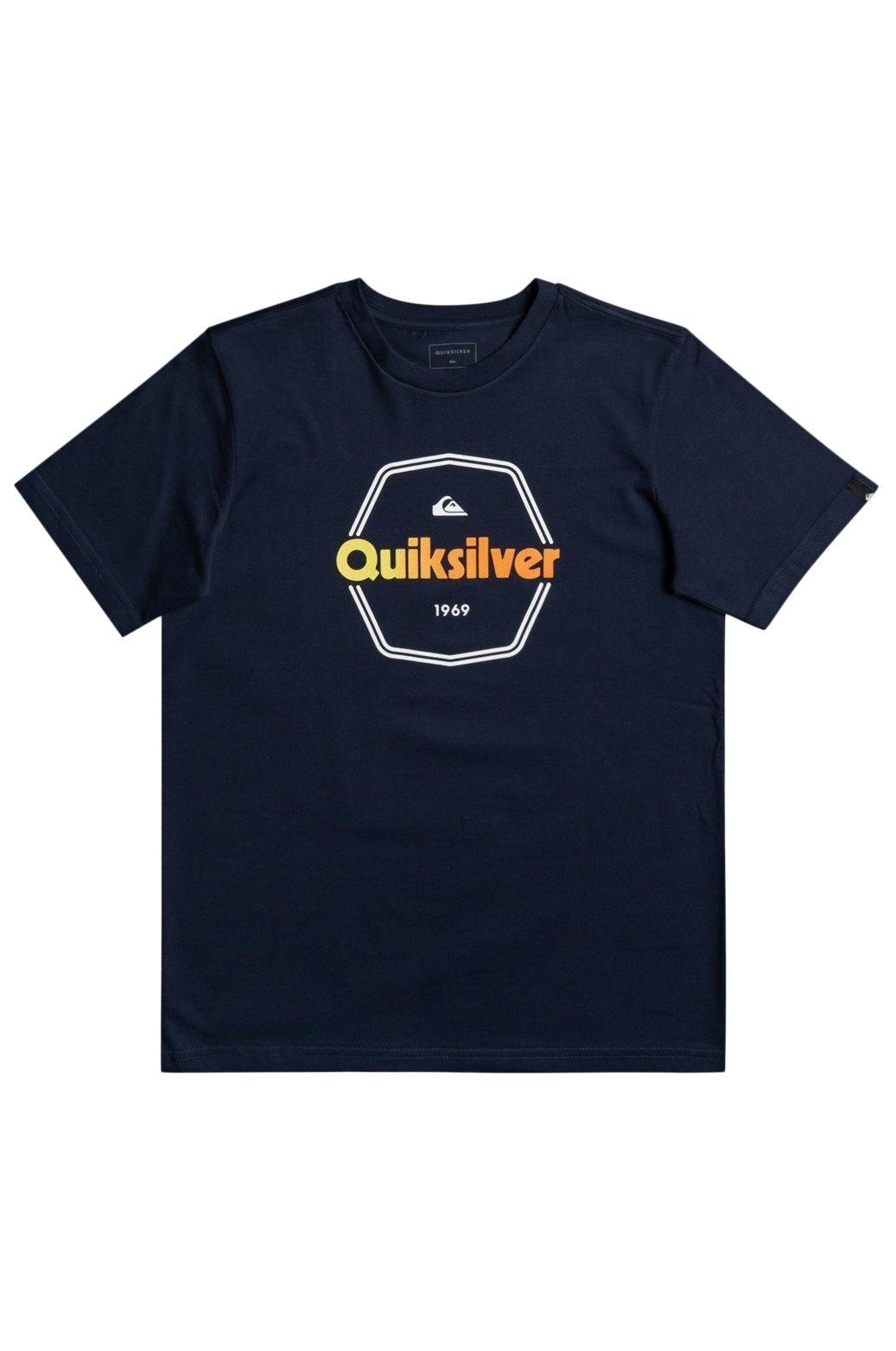 T-Shirt Quiksilver HARDWIREDSSYTH B TEES Navy Blazer