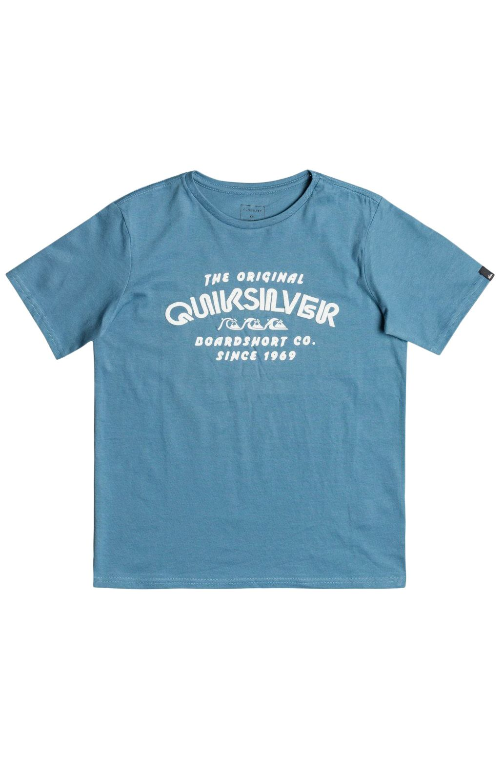 T-Shirt Quiksilver WILDERMILSSYTH B TEES Captains Blue