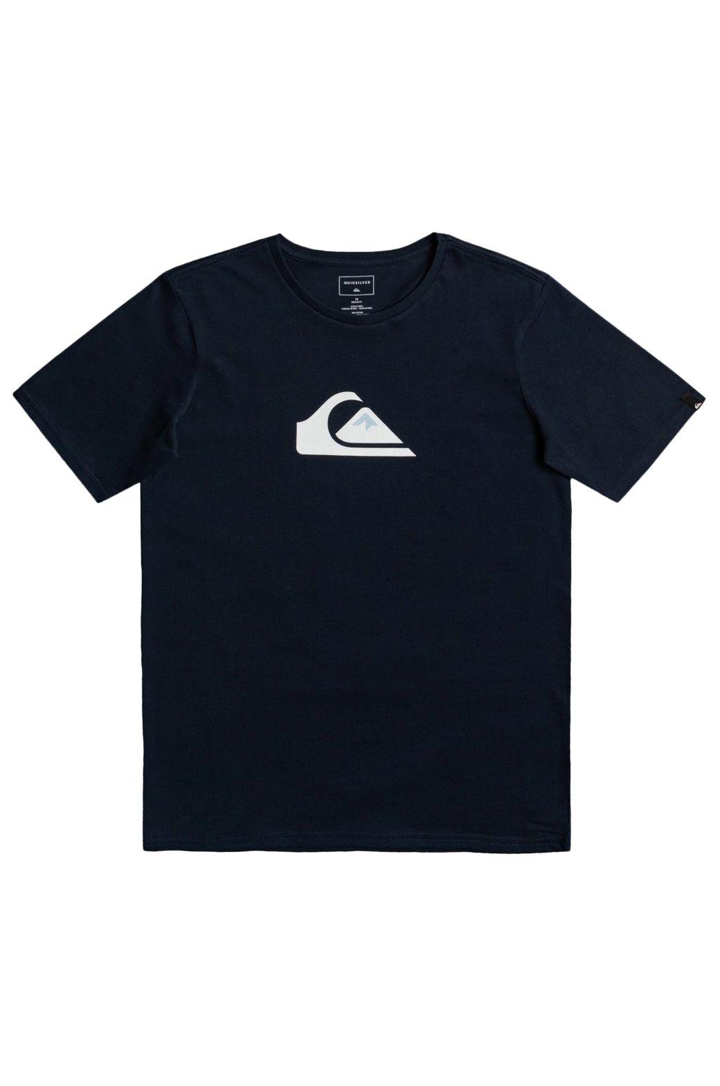 T-Shirt Quiksilver COMPLOGOSSYTH B TEES Navy Blazer