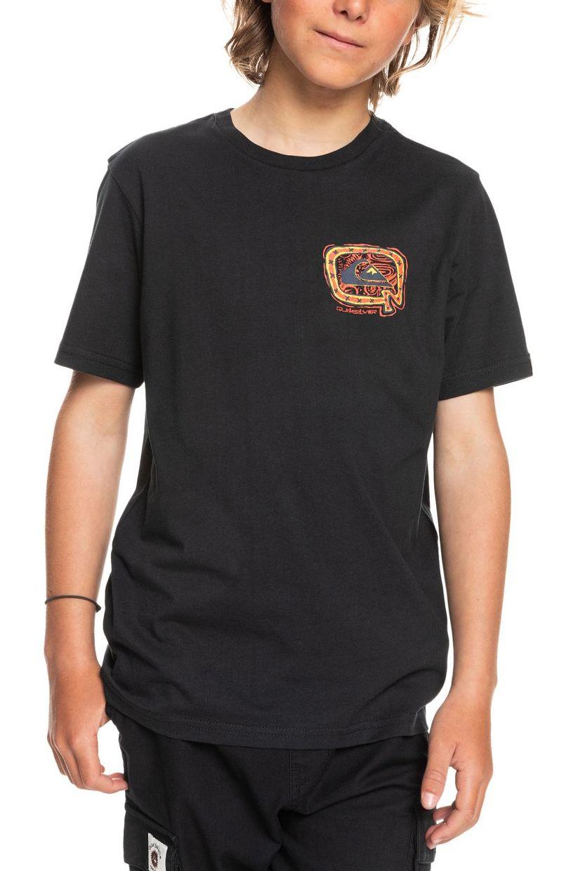 Quiksilver T-Shirt BIG Q Black