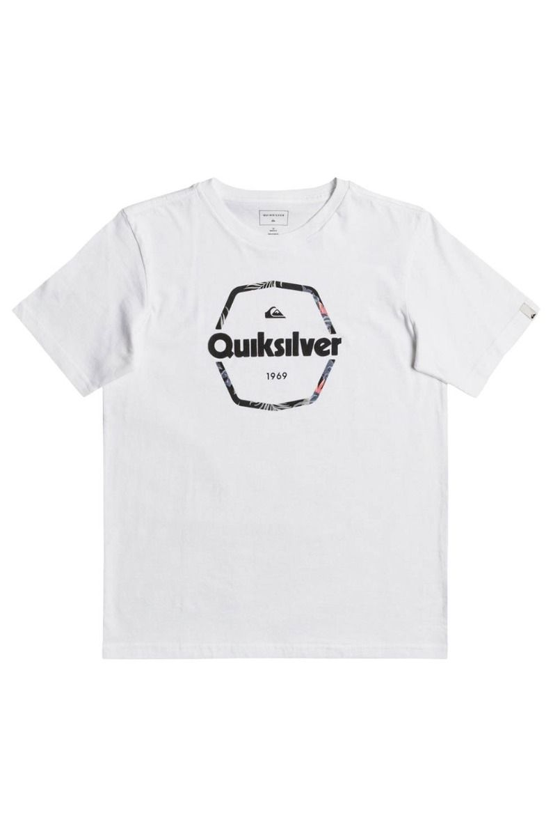 Quiksilver T-Shirt HARD WIRED White