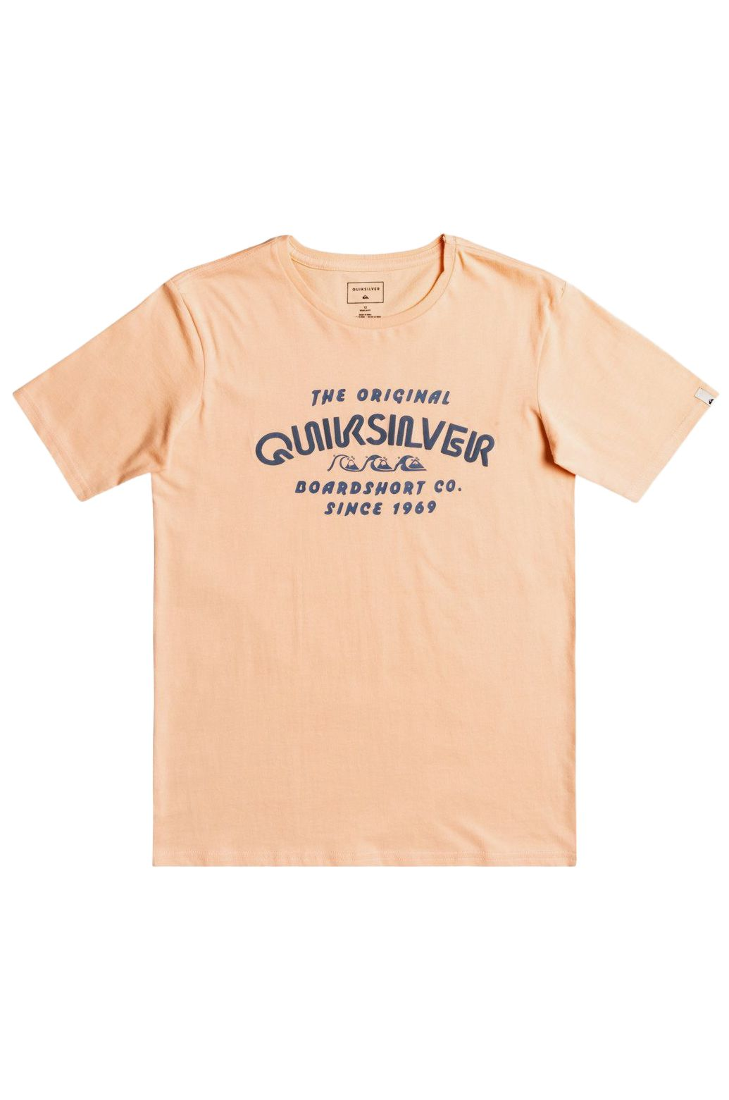 Quiksilver T-Shirt WILDER MILE Apricot