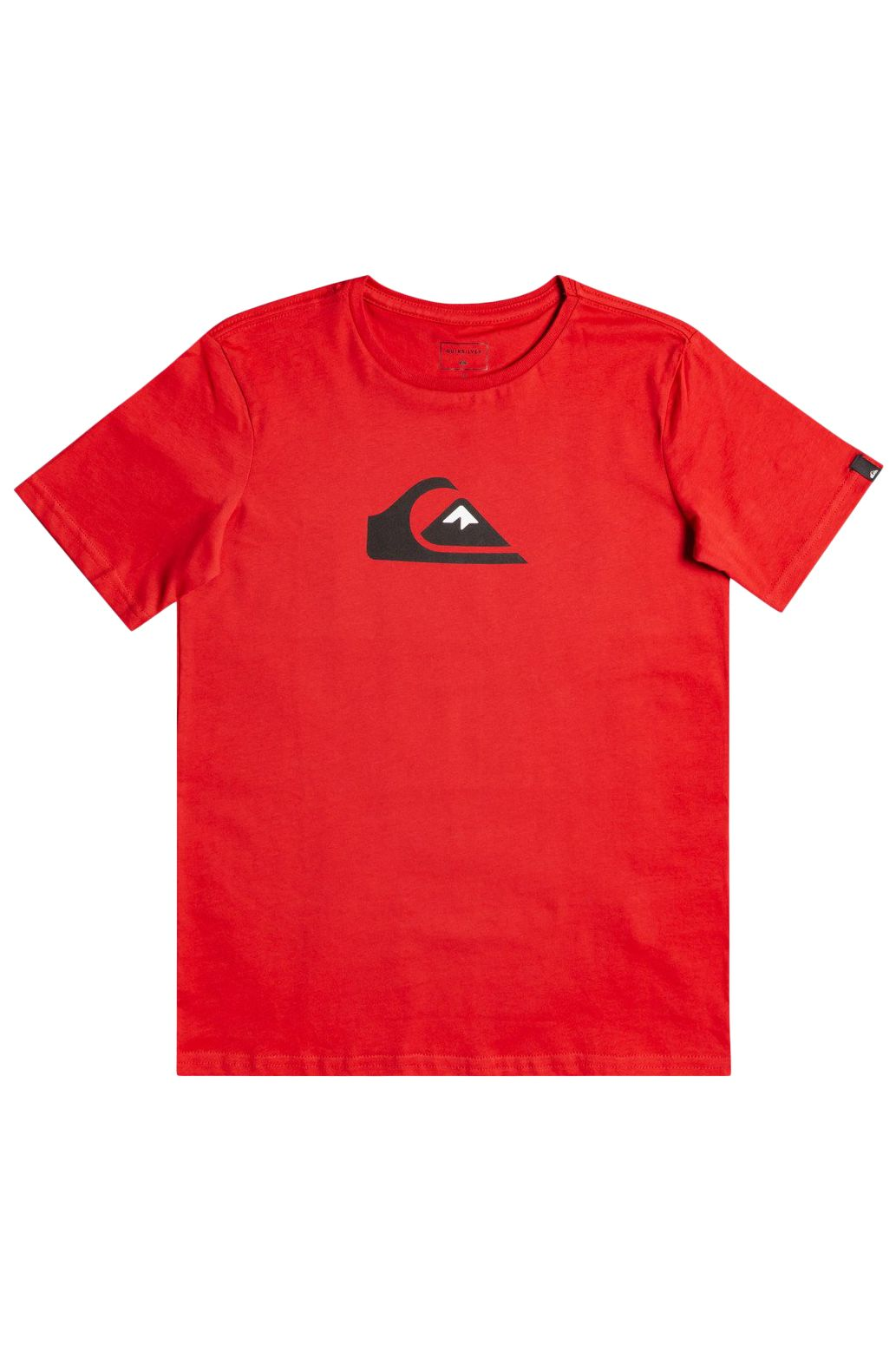 Quiksilver T-Shirt COMP LOGO American Red