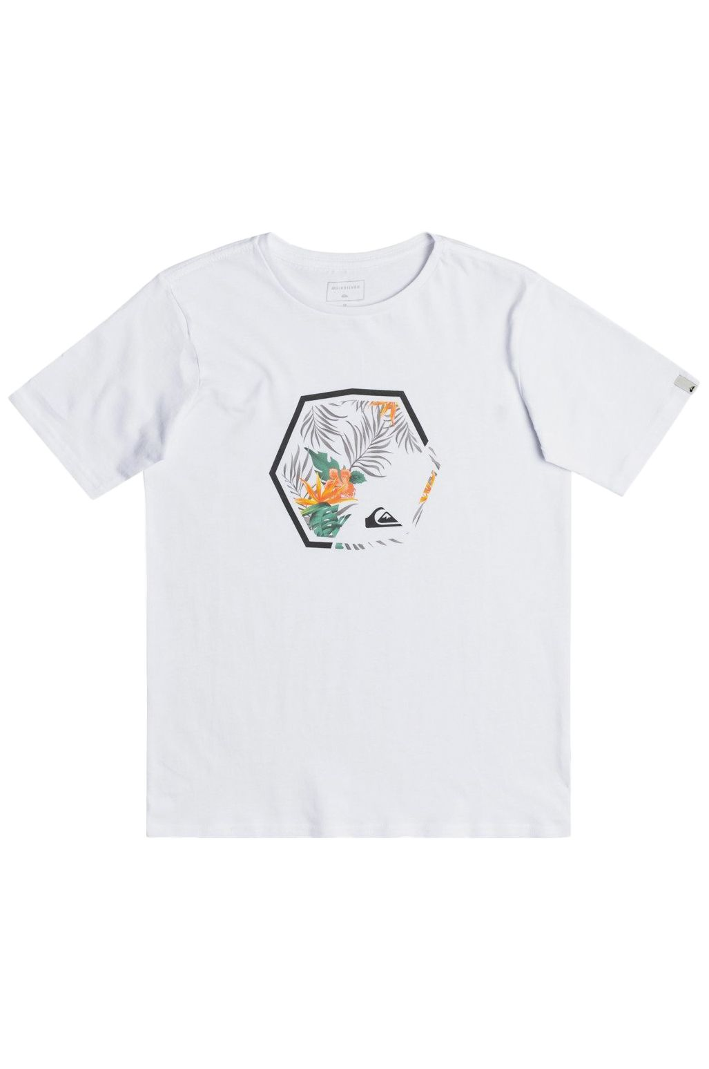 Quiksilver T-Shirt FADING OUT White