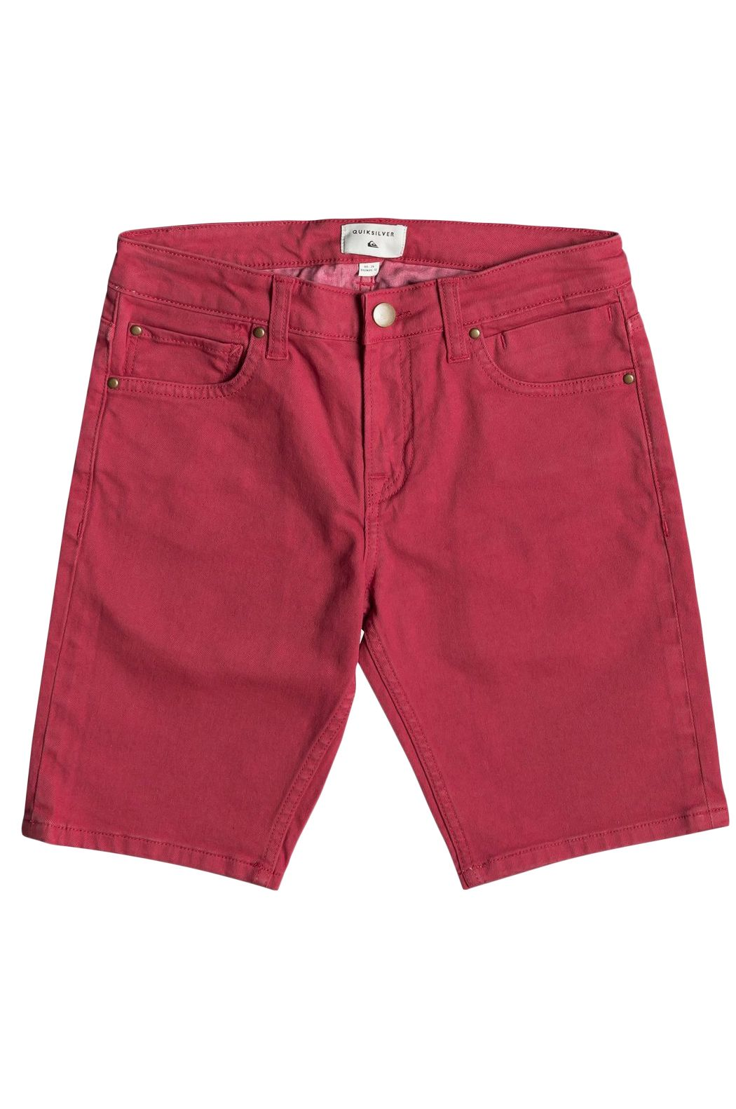 Walkshorts Quiksilver DISTCOLORSHORTY B DNST Brick Red