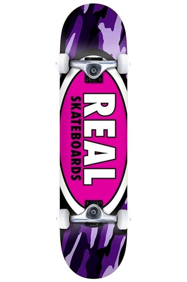 "Street Skate Real 8"" TEAM OVAL CAMO LG Multi"