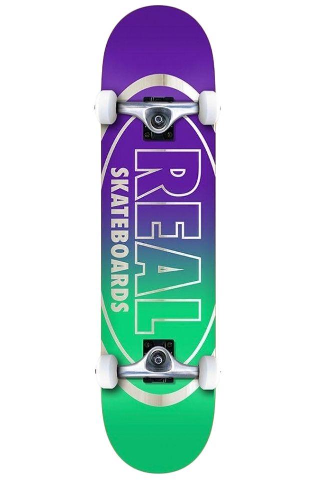 """Street Skate Real 8"""" GOLDEN OVAL OUTLINE LG Multi"""
