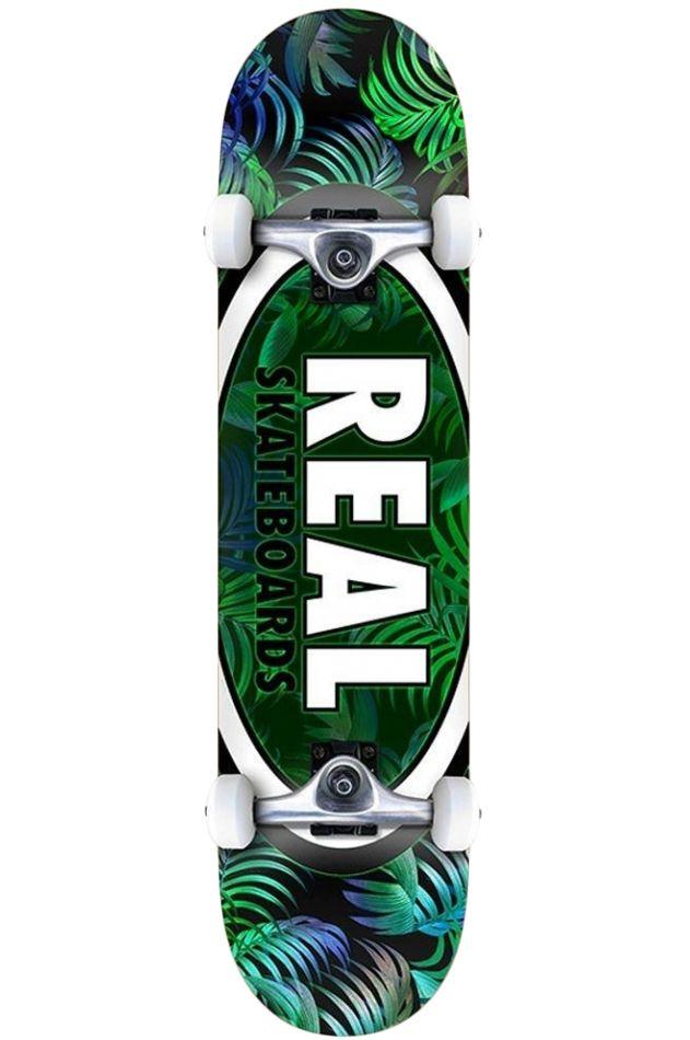 """Street Skate Real 8"""" TEAM TROPIC OVALS 2 LG Multi"""