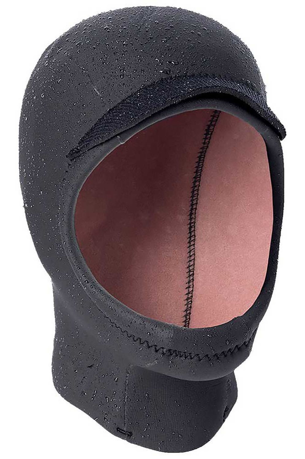 Rip Curl Wetsuit Hoods HEAT SEEKER 3MM OPEN FACE HOOD CHIN CUP Black