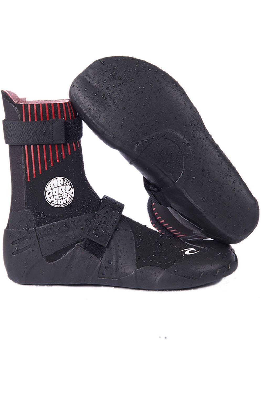 Rip Curl Neoprene Boots FLASH-BOMB 3MM BOOT - HIDDEN SPLIT TOE Black