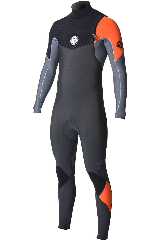 Rip Curl Wetsuit E-BOMB CZ 3/2 STEAMER Orange/Orange