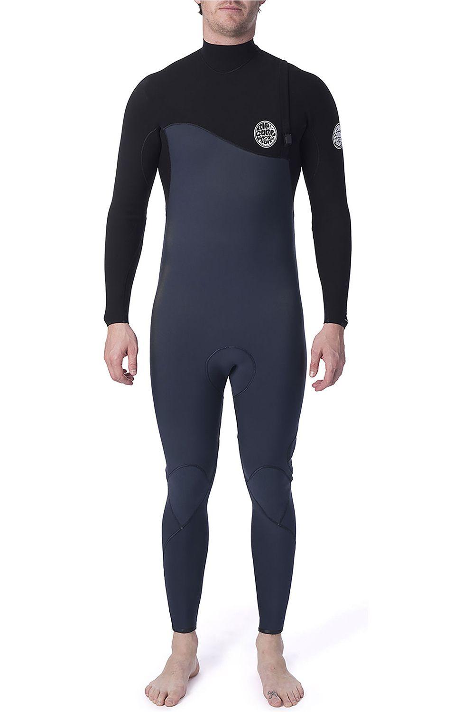 Rip Curl Wetsuit FLASHBOMB 32GB Z/FREE STR Slate