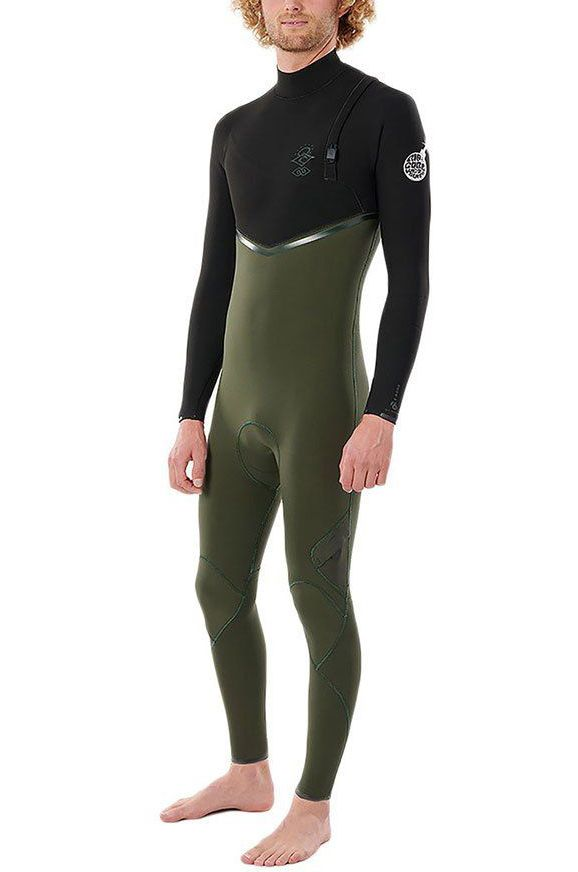 Rip Curl Wetsuit E BOMB 43GB Z/FREE STMR Olive