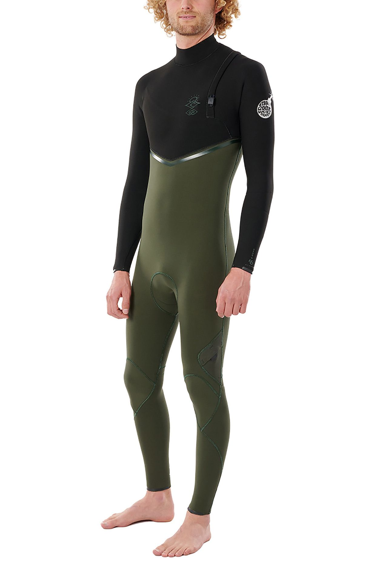 Rip Curl Wetsuit E BOMB 32GB Z/FREE STMR Olive