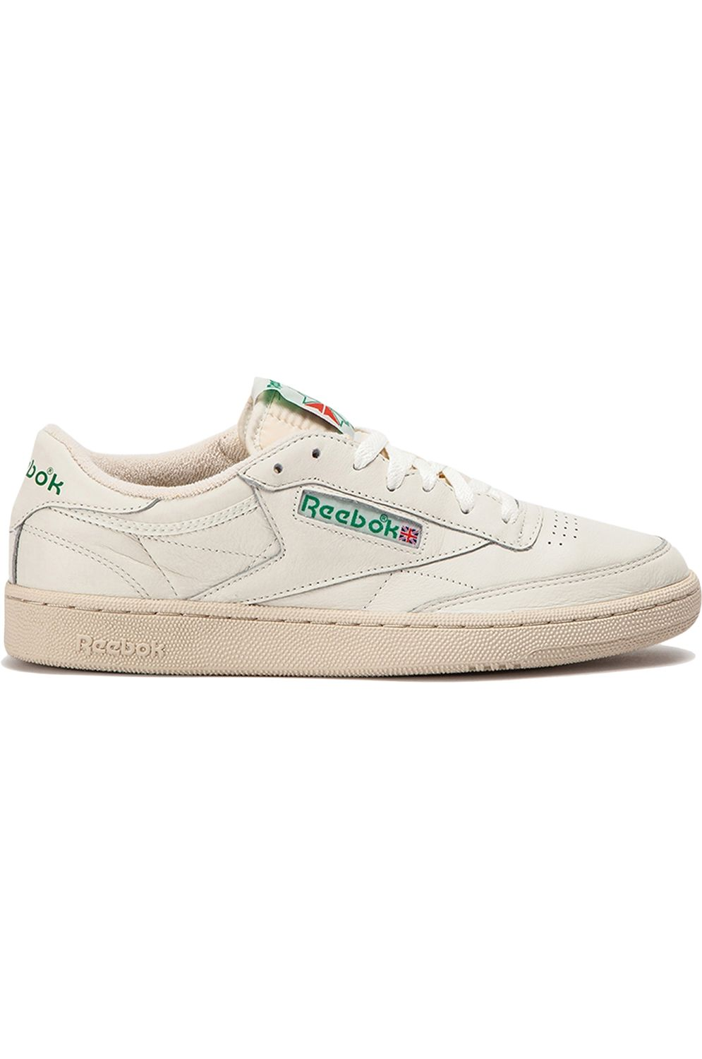 Reebok Shoes CLUB C 1985 TV Top-Chalk/Paperwhite/Glen Green