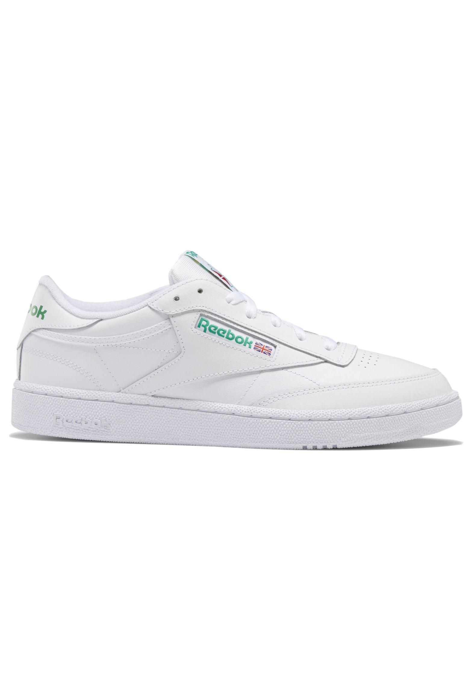 Tenis Reebok CLUB C 85 Int-White/Green