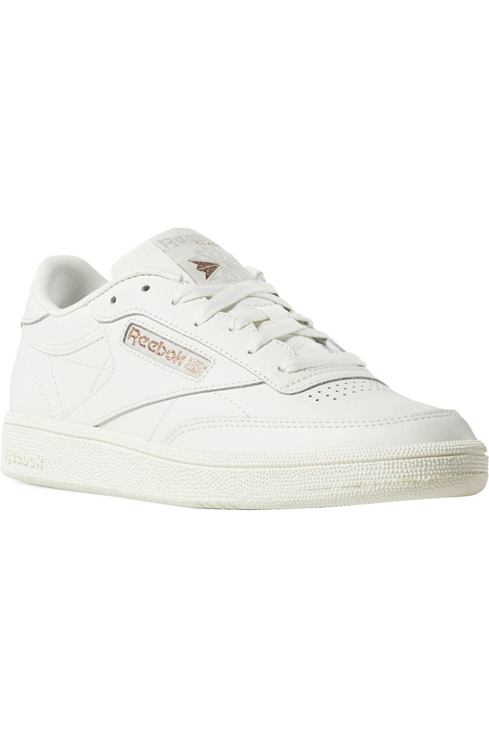 Tenis Reebok CLUB C 85 Cv-Chalk/Rose Gold/Paper White