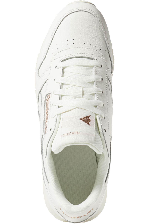 Reebok Shoes CL LTHR Cv-Chalk/Rose Gold/Paper White