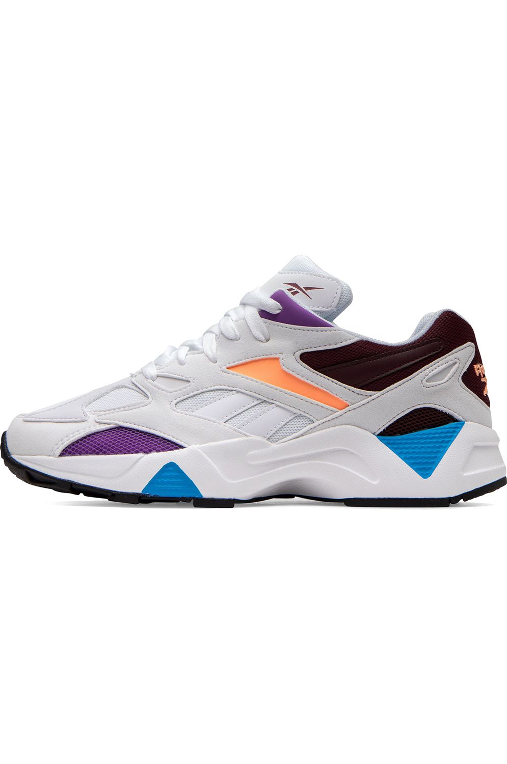 Reebok Shoes AZTREK 96 White/Porcelain/Maroon
