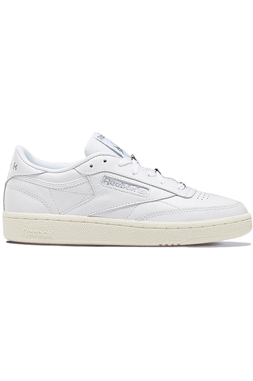 Reebok Shoes CLUB C 85 White/Silver Met./Pure Grey 3