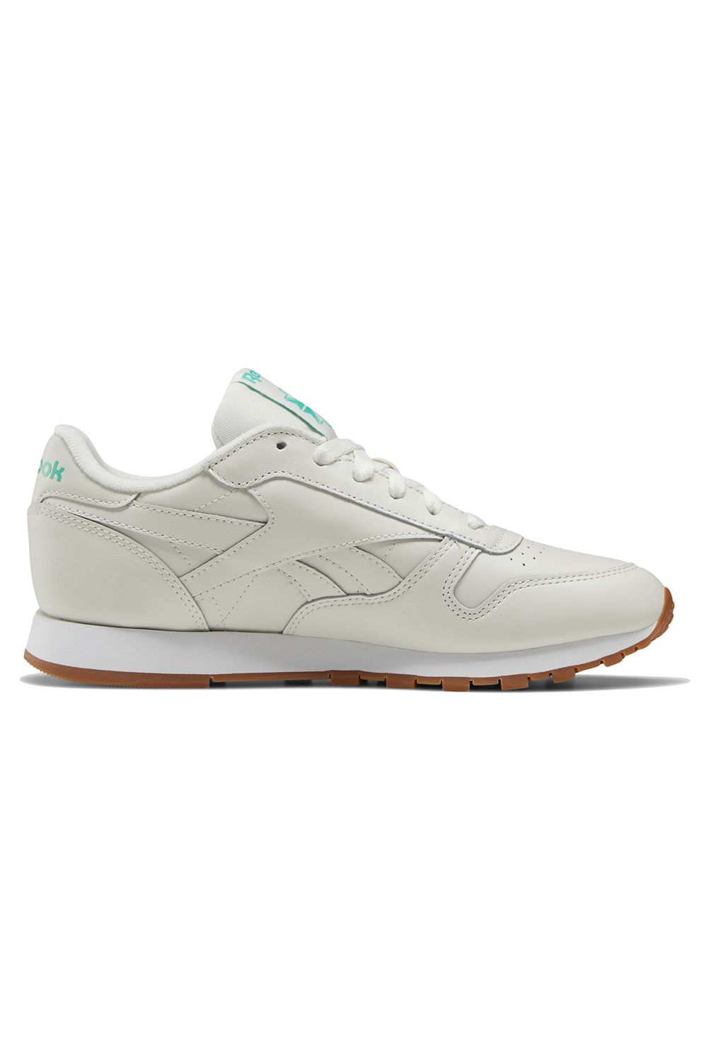 Tenis Reebok CL LTHR Chalk/Court Green/White