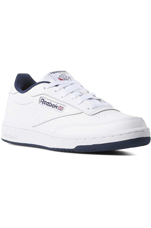 Reebok Shoes CLUB C White/Navy-Intl