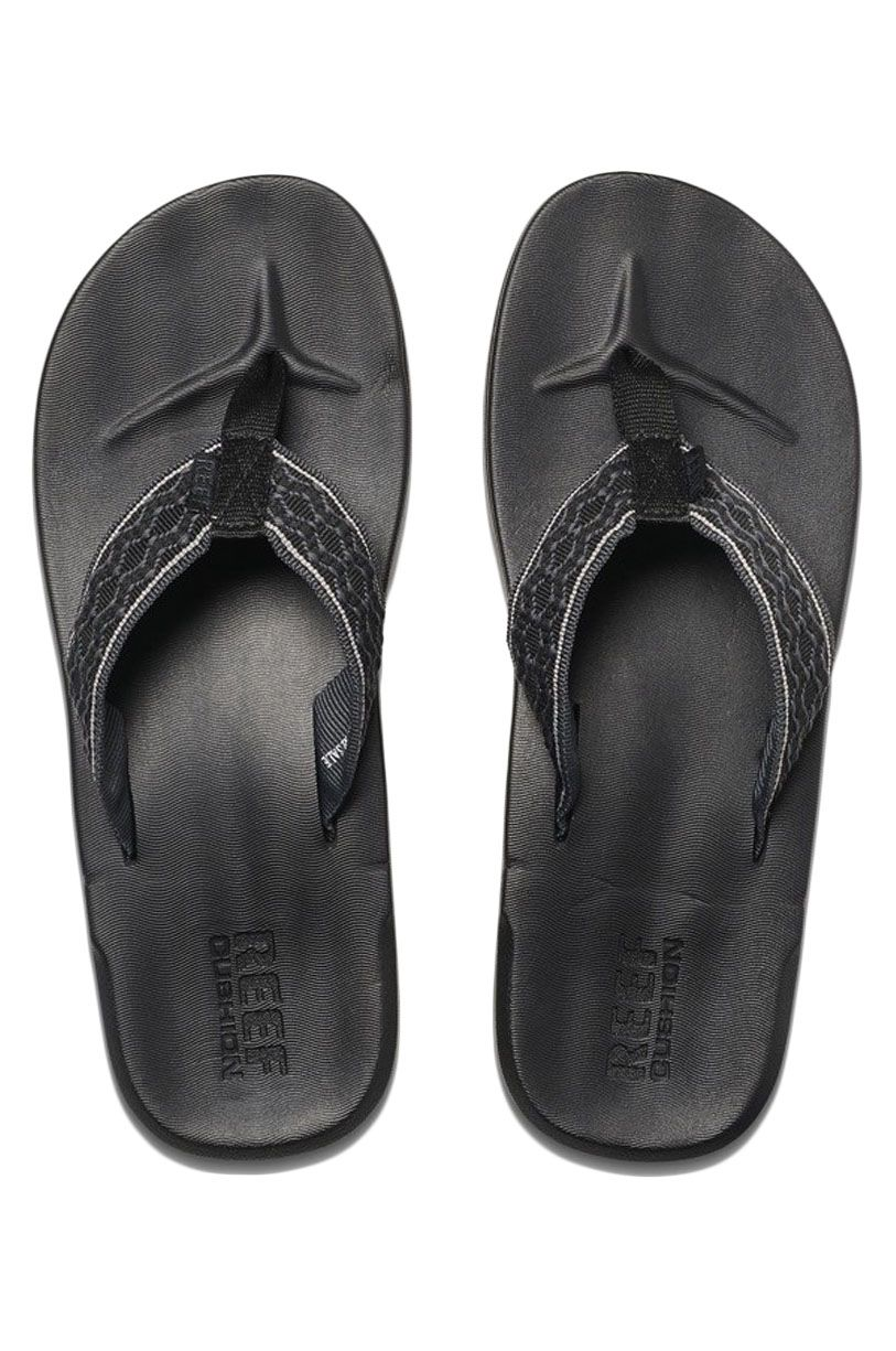 Reef Sandals CUSHION SMOOTHY Black