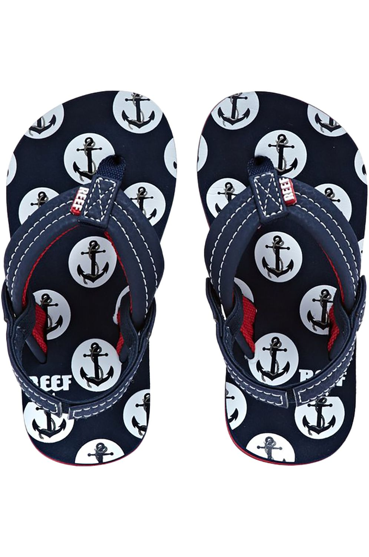 Reef Sandals LITTLE AHI Anchors