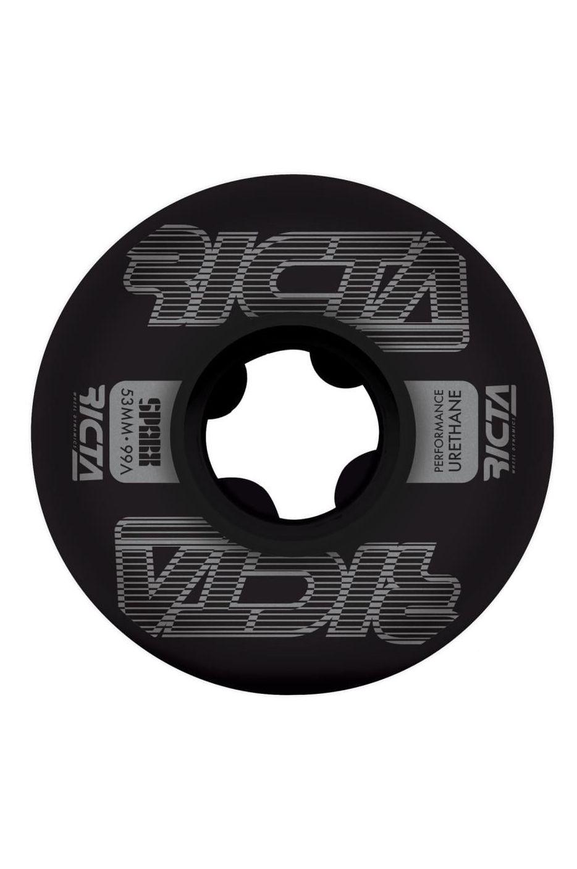 Ricta Skate Wheels 53MM FRAMEWORK SPARX BLACK 99A Assorted