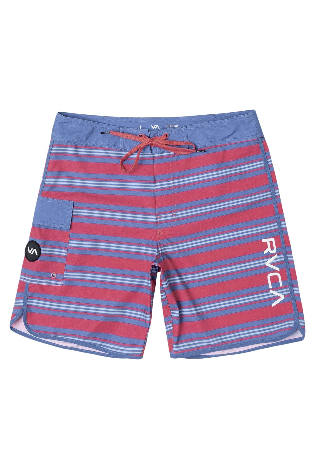 Boardshorts RVCA EASTERN TRUNK 18 Coral Pink