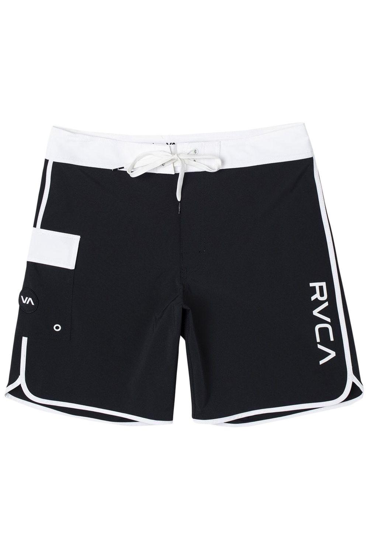 Boardshorts RVCA EASTERN TRUNK 18 Black/White