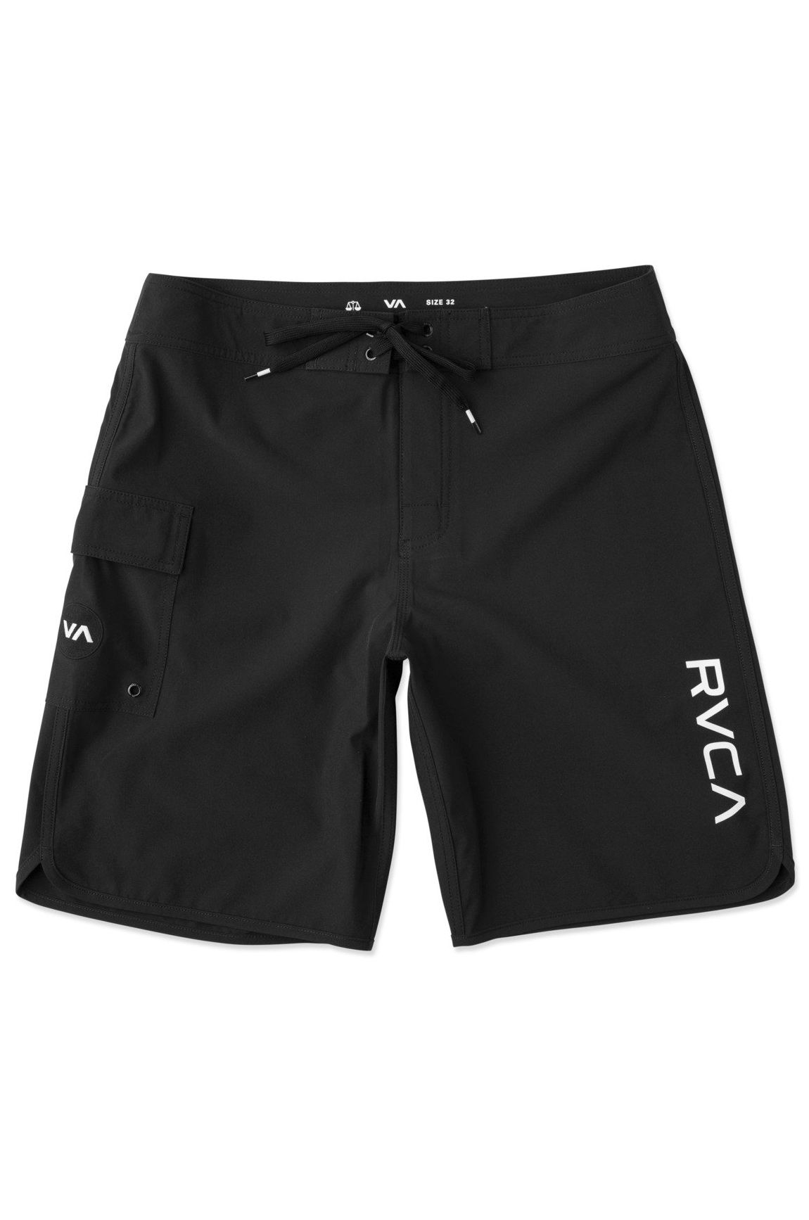 Boardshorts RVCA EASTERN TRUNK 18 All Black