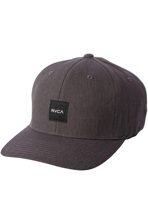RVCA Cap   SHIFT FLEXFIT Black