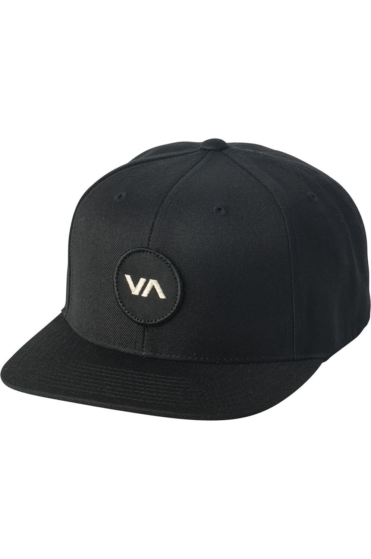 RVCA Cap   VA PATCH SNAPBACK Black