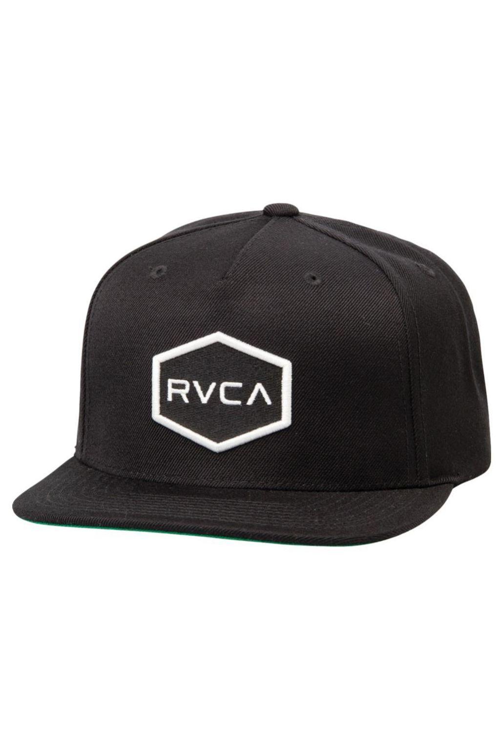 RVCA Cap   COMMONWEALTH SNAPBACK Black/White