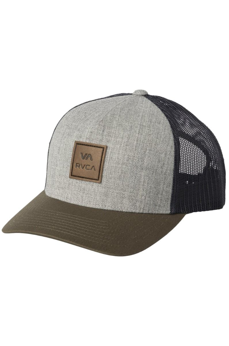 Bone RVCA VA ALL THE WAY CURVE Grey Green