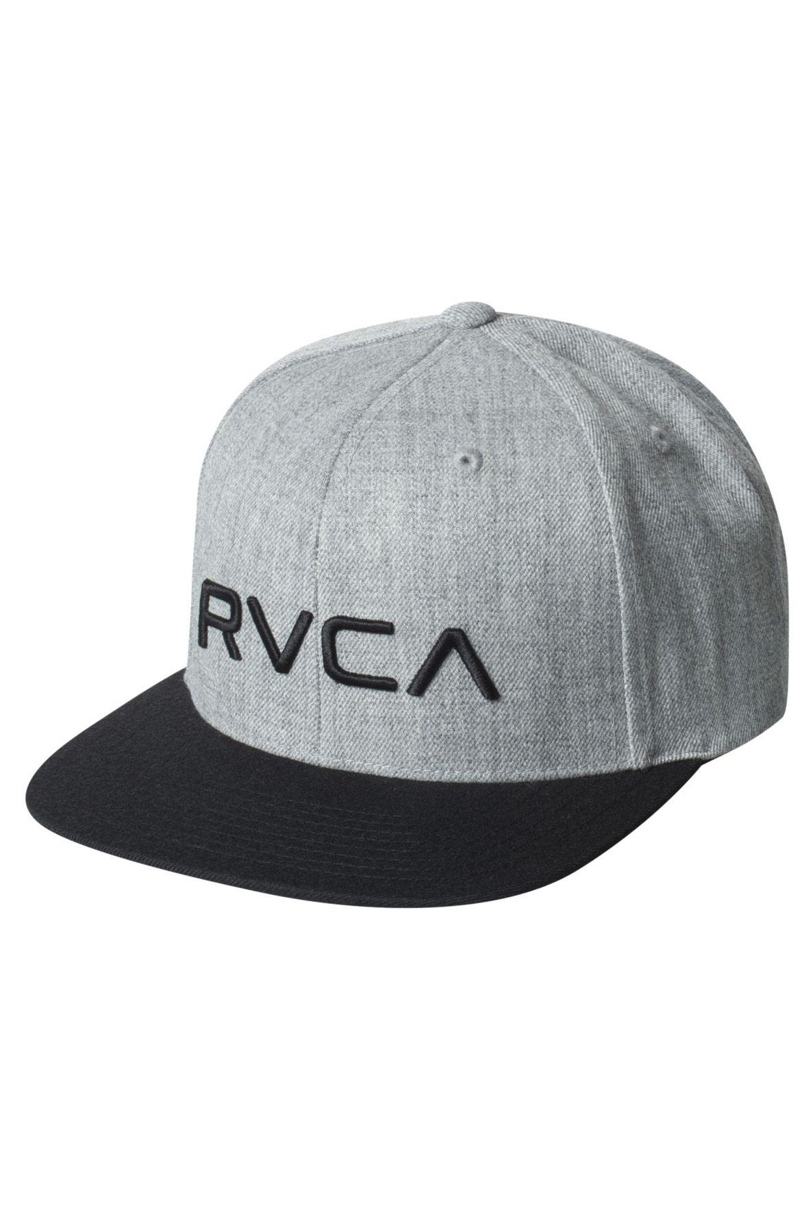 RVCA Cap   RVCA TWILL SNAPBACK Hthr Grey/Black