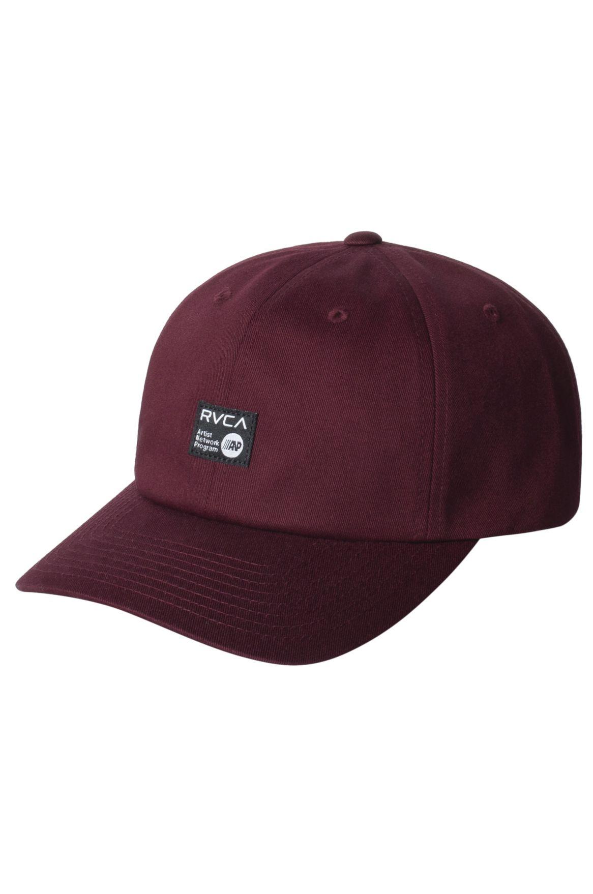 RVCA Cap   ANP CAP Oxblood Red