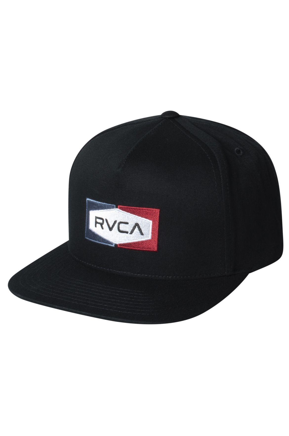 RVCA Cap   ELM SNAPBACK Black