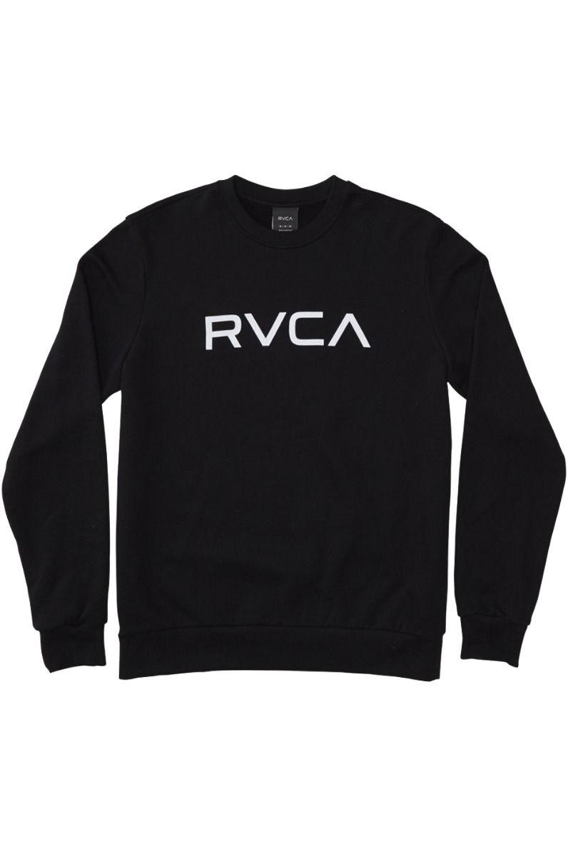 RVCA Crew Sweat BIG RVCA Black