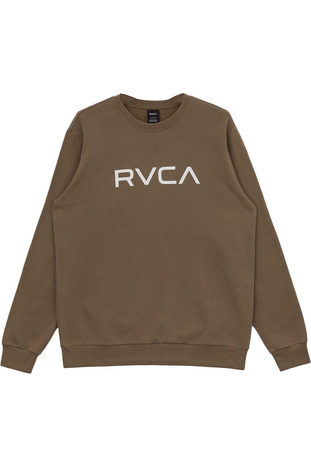 Sweat Basica RVCA BIG RVCA Olive