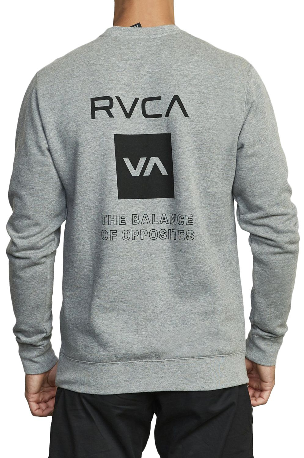 Sweat Basica RVCA SPORT GRAPHIC VA SPORT Heather Grey