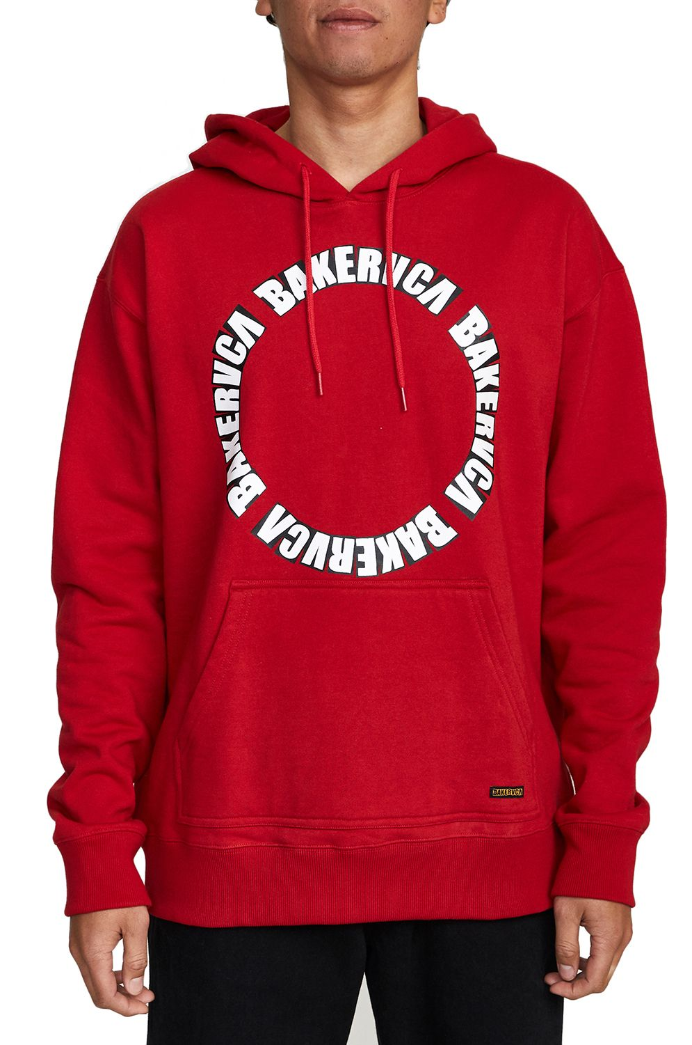 Sweat Capuz RVCA BAKER RVCA HOODIE Bright Red