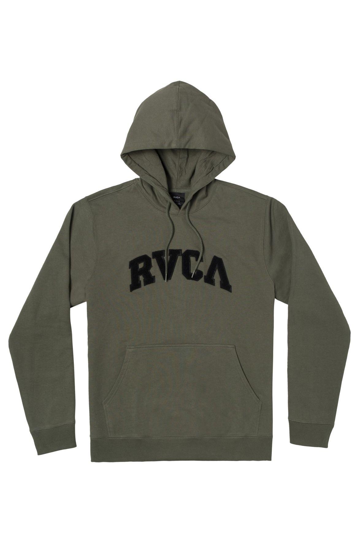 RVCA Sweat Hood CONCORD APPLIQUE HOO Cactus