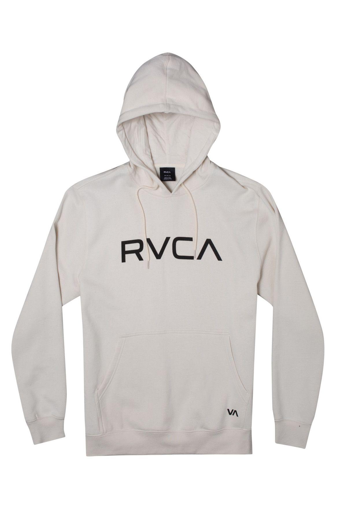 Sweat Capuz RVCA BIG RVCA Silver Bleach