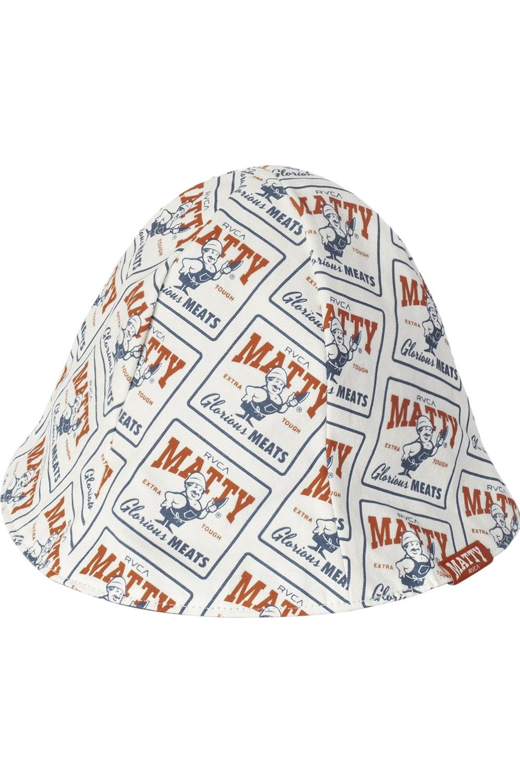 RVCA Cap MATTYS BUCKET HAT White