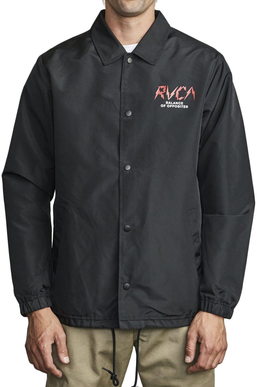 RVCA Jacket BERNI COACHES Black