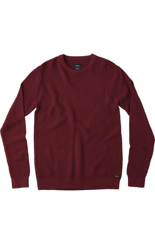 RVCA Sweater CHUM Tawny Port